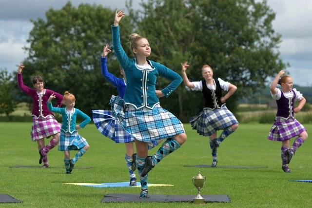Airth Highland Games will not take place in 2021 due to concerns over the uncertainty surrounding restrictions on spectators and athletes. Picture: Michael Gillen.