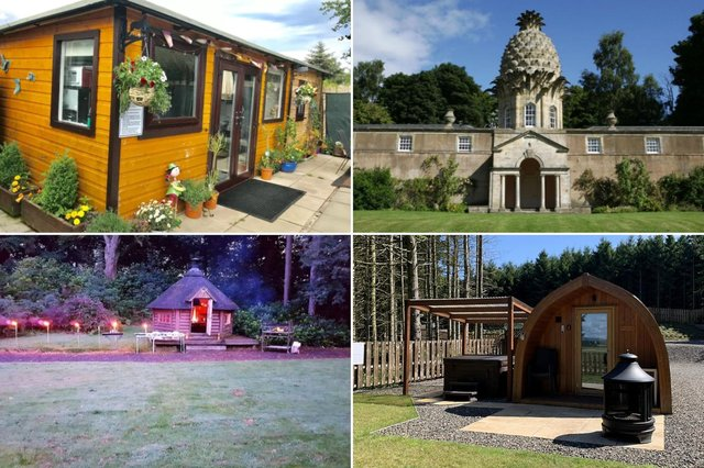 Check out these ten amazing places to stay - all without leaving the Falkirk council area.