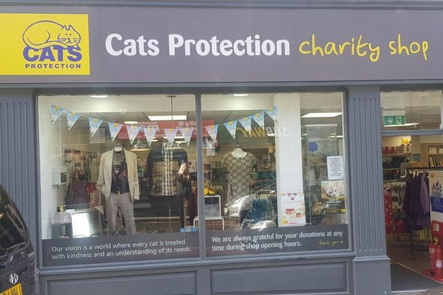 Cats Protection Shop.