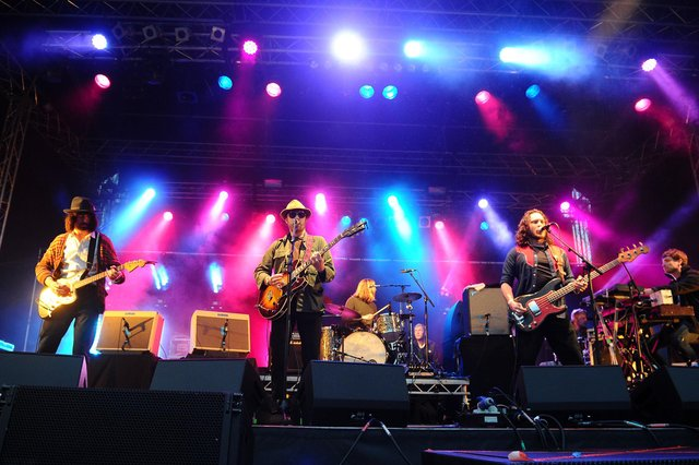 The Coral on stage at  Vibration Festival 2019 (Pic: Michael Gillen)
