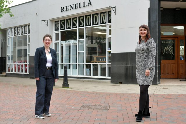 Renella in Falkirk has changed its business model to support more apprentices during lockdown. Pictured are Moira Holland-Forrester and Laura Hill, part-owners. Picture: Michael Gillen.