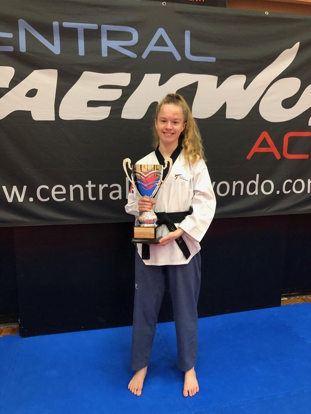 Natasha will compete in the Junior Female category after seeing off 15 other junior athletes from the national poomsae squad.
