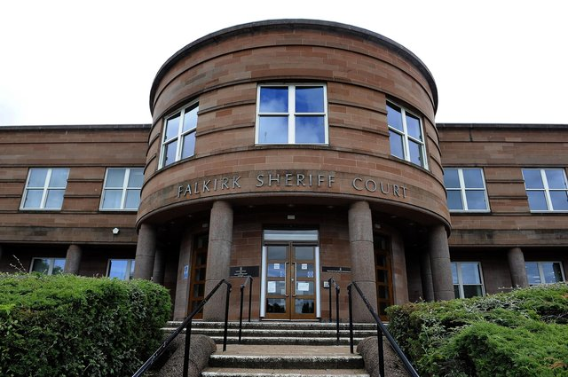 A Stenhousemuir 16-year-old appeared at Falkirk Sheriff Court last week after he assaulted a teen in Falkirk in August. Picture: Michael Gillen.