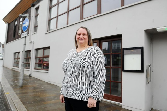 Karen Geary, Christie's Falkirk deputy general manager. Picture: Michael Gillen.