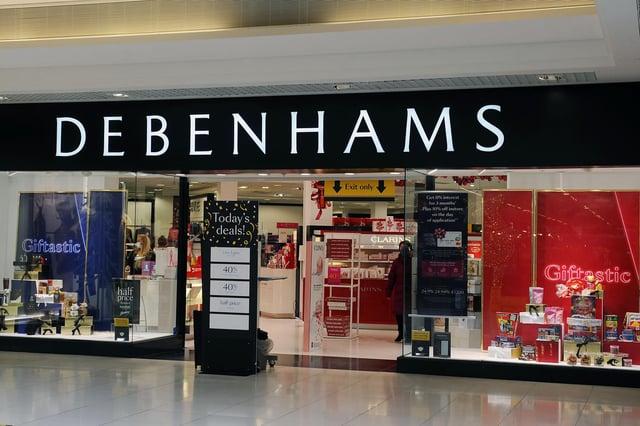 Cummings stole perfume from Debenhams in Falkirk's Howgate Shopping Centre