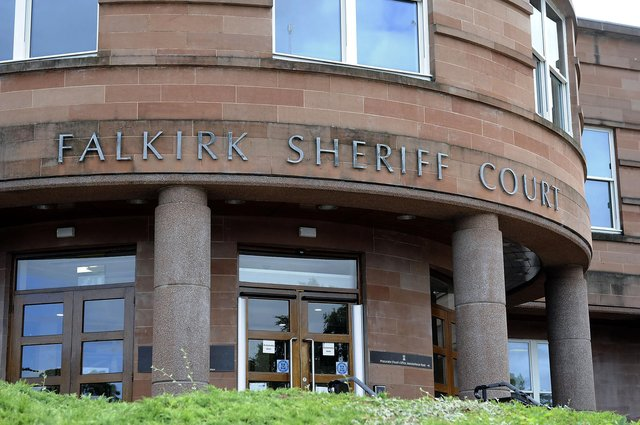 Main appeared at Falkirk Sheriff Court on Thursday to answer for his threatening behaviour