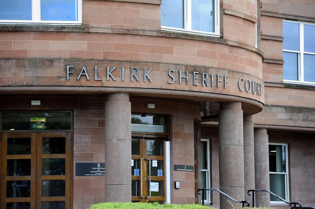 Catherine Maloney, of Grangemouth, was spared jail when she appeared at Falkirk Sheriff Court. Picture: Michael Gillen.