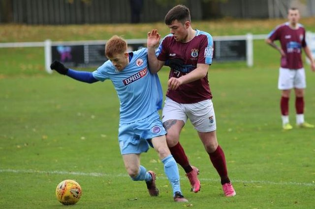 Whitehill Welfare and Camelon in action earlier in the season, which could now be declared null and void. Picture: Susie Raeburn