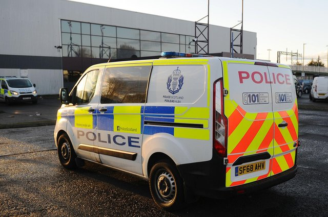 Police have issued security advice following an increase in vehicle thefts in Forth Valley. Picture: Michael Gillen.
