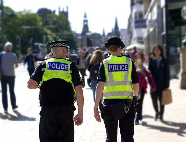 Falkirk North saw 232 stop and searches during lockdown – 55 per cent of incidents were negative and 45 per cent were positive.