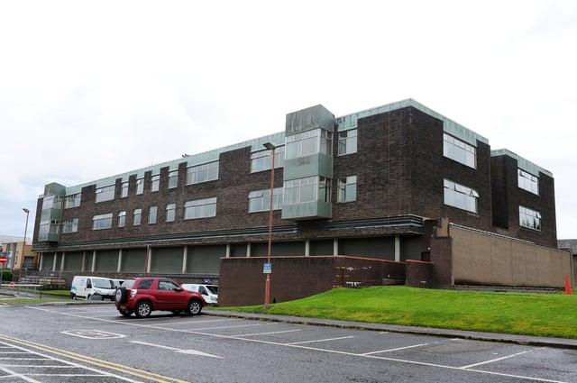Falkirk Community Hospital.