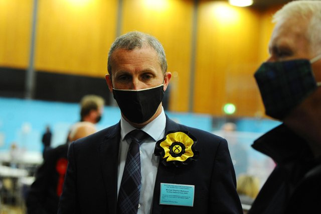 Michael Matheson has been re-elected in Falkirk West. Picture: Michael Gillen