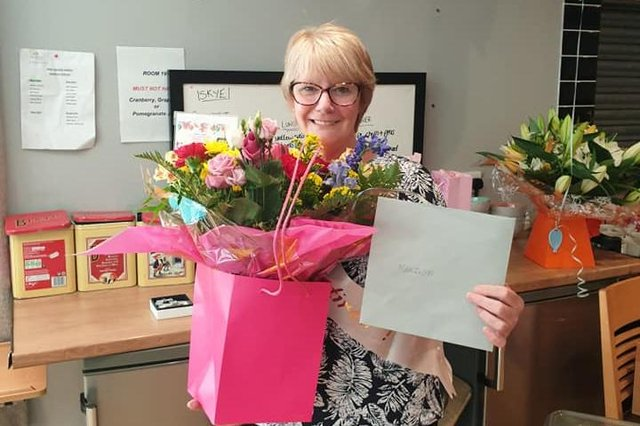Marilyn Donoghue retired from her role with Carrondale Care Home last week. Contributed.