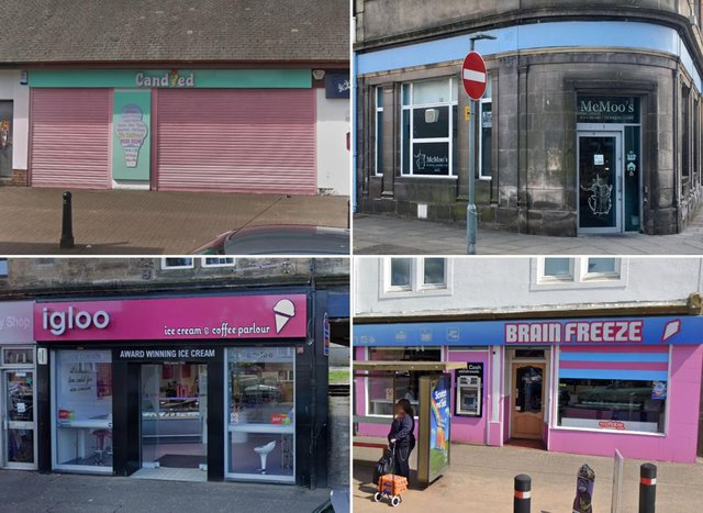 Some of the best places to get ice cream in and around Falkirk.