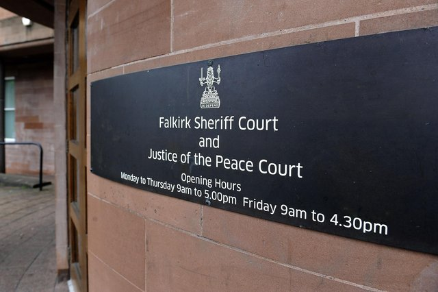 Stirling resident Lesley Gardiner appeared at Falkirk Sheriff Court last week. Picture: Michael Gillen.