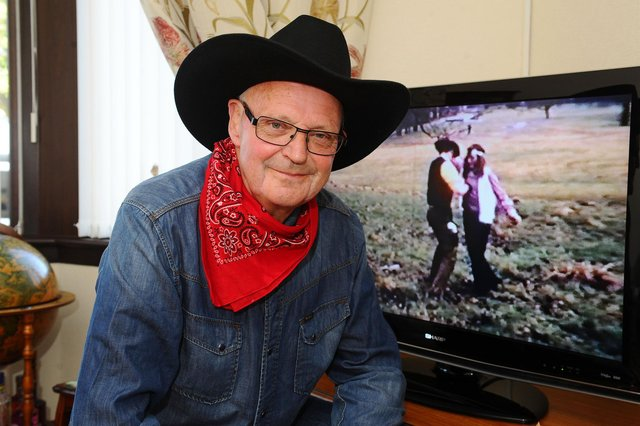 Original BA Cowboy Ian Gardiner (73) admitted he would love to be included in the new feature film