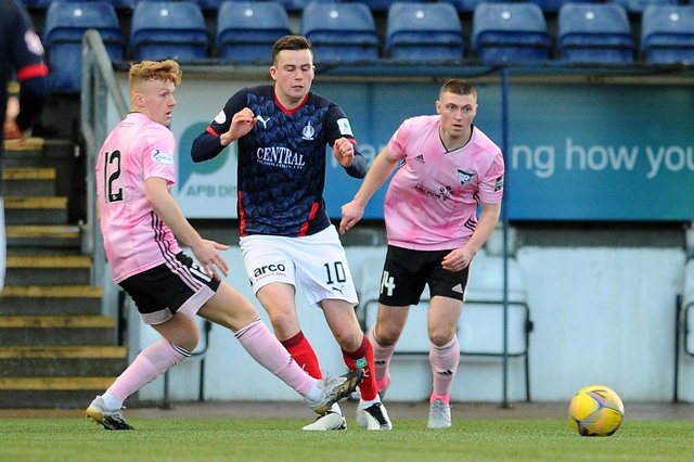 Falkirk will be without Anton Dowds (pictured), Aidan Connolly, Charlie Telfer, Paul Dixon and Ben Hall who all miss out through injury.