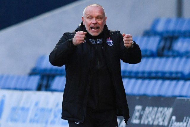 Former Falkirk manager John Hughes has left his role at Ross County after guiding them to Premiership survival (Photo by Sammy Turner / SNS Group)