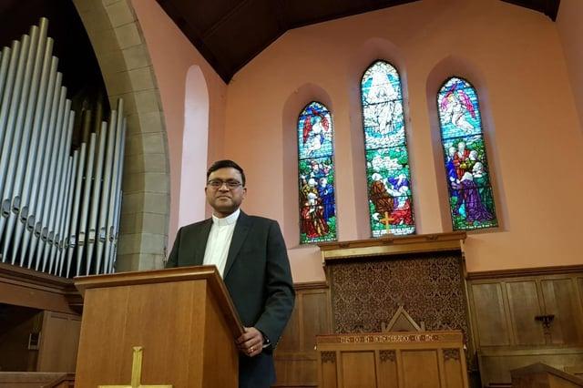 Reverend Raheel Arif, of Denny Old Parish Church. Contributed.