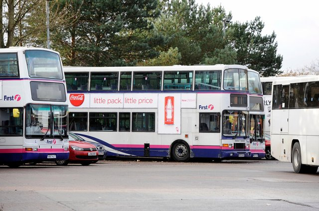 Staff at the First Bus depot in Larbert were mourning the loss of another beloved and well respected driver this week