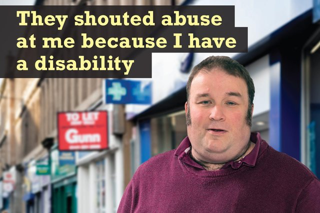 Police officers have teamed up with I Am Me Scotland to help those with disabilities feel as safe as possible when they are out and about