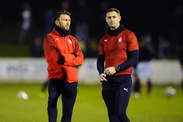 Lee Miller and David McCracken left their roles as Falkirk co-managers earlier this week