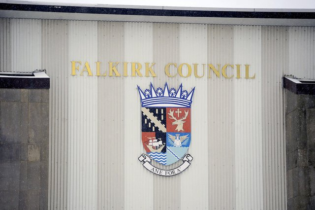 Falkirk Council Municipal Buildings.