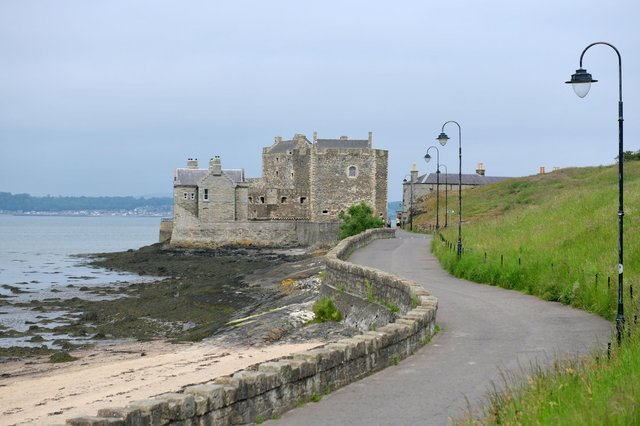 Blackness Castle has reopened to the public, but visitors must book in advance.