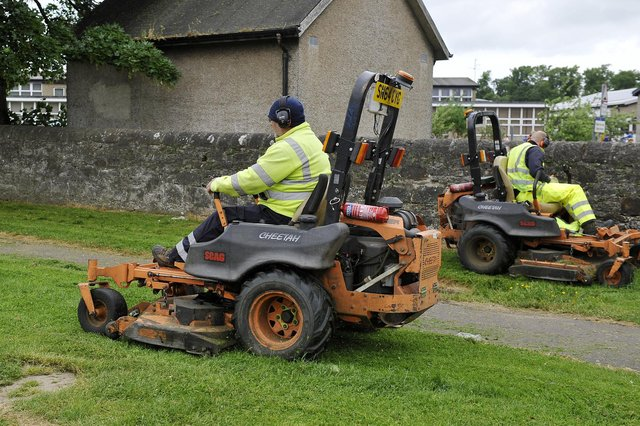 Falkirk Council is asking members of the public to share their views on a plan to reduce grass cutting in 35 pilot areas to improve biodiversity in the district. Picture: Michael Gillen.
