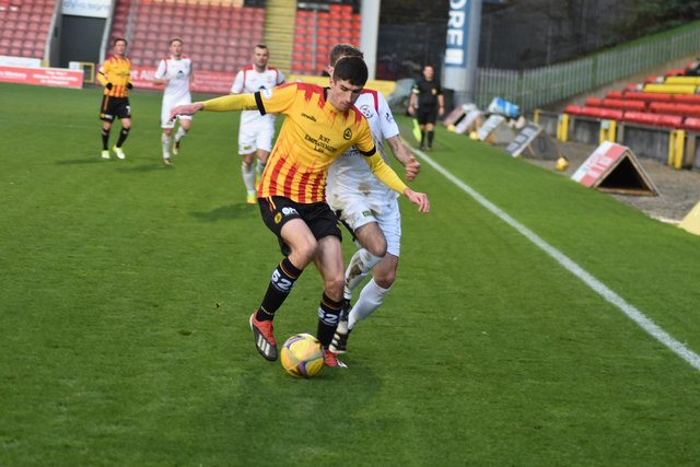 Ryan Williamson in action for Partick Thistle last season (Pic: Kenny MacKay)