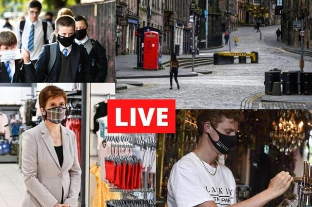 Scotland's First Minister Nicola Sturgeon will hold a coronavirus briefing at 12pm