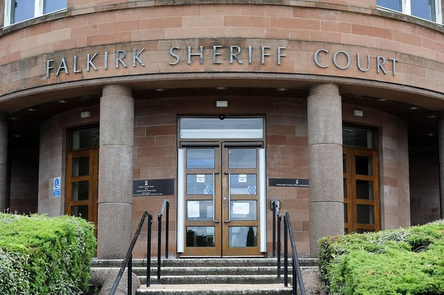 Edvardas Sadovskis was due to appear at Falkirk Sheriff Court on Thursday. Picture: Michael Gillen.
