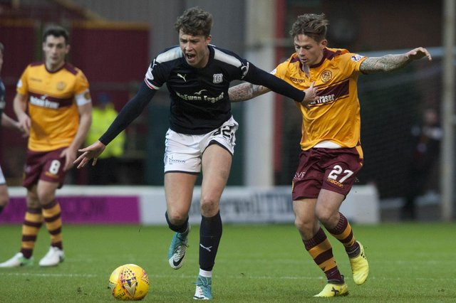 Jack Hendry in action for former club Dundee (Pic by Angie Isac)