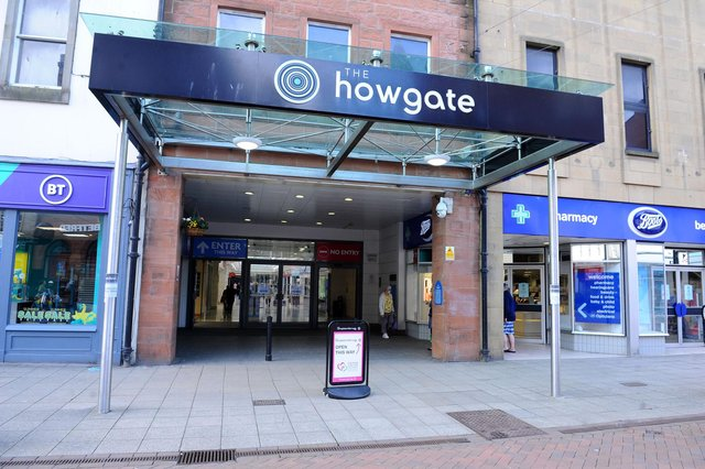 The Howgate Shopping Centre is closed on Easter Monday but reopens tomorrow