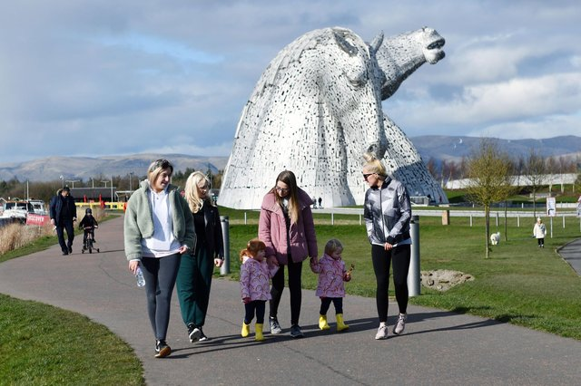 The 500 Words for Falkirk short story competition tasks entrants with writing about a local landmark, such as The Kelpies, to be in with a chance of winning a prize. Picture: Michael Gillen.