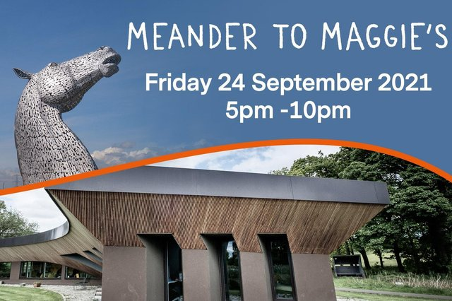 Meander to Maggie's is the latest fundraiser for the centre