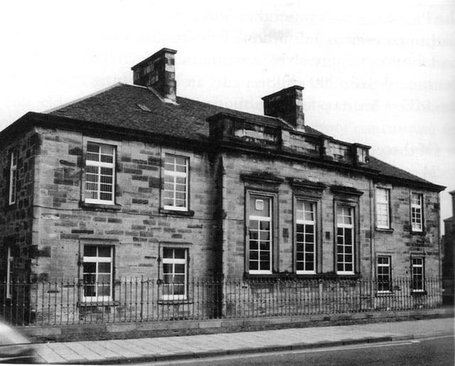 The Grammar School in Park Street opened in 1846
