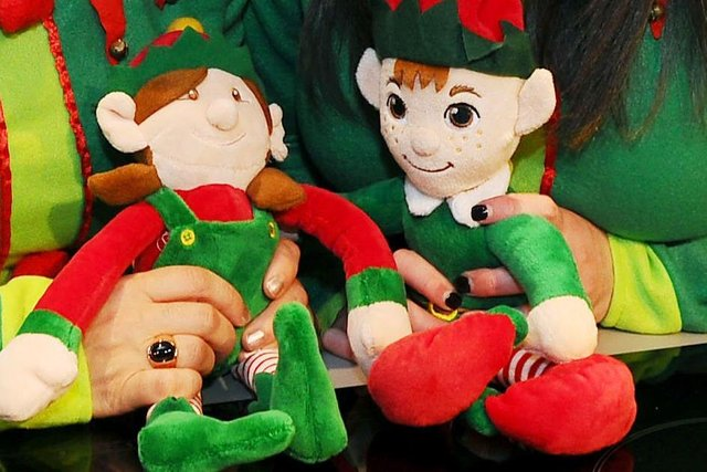Polmont Playgroup is asking businesses in Polmont and Brightons to sponsor elves as part of a community-focused event. Picture: Michael Gillen.