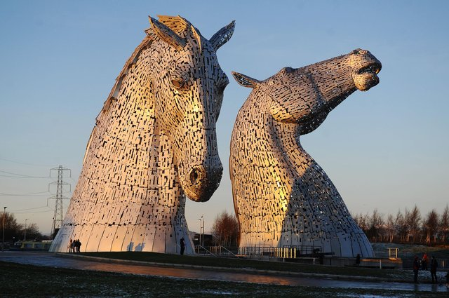 Falkirk area attractions like The Kelpies will play a pivotal part in rejuvenating the country's tourism industry, says VisitScotland. Picture: Michael Gillen.