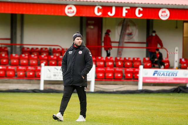 Gordon Herd has left his role as Camelon manager