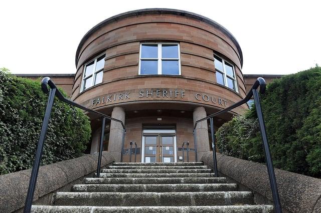 Frazer Smith and Gordon McFarlane were sentenced at Falkirk Sheriff Court on Thursday. Picture: Michael Gillen.