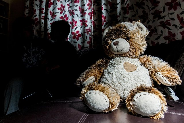 Child poverty rose by 2.1 per cent in Falkirk district between 2015 and 2020, a study has revealed. Picture: Ian Georgeson.