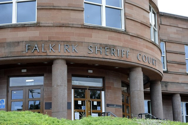 Andrew Hickey, of Falkirk, was sentenced at Falkirk Sheriff Court last Thursday. Picture: Michael Gillen.