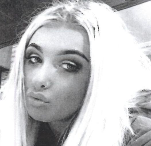 Police are looking for help to trace Cheryl Hutchison (18)