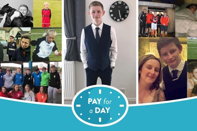 Harry Sherrington sadly died at the age of 18 back in in 2018, but his family and friends have continued to raise money for Strahcarron Hospice in his memory