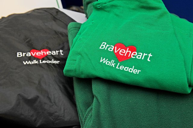 Braveheart is starting a new weekly health walk in the Denny area from Friday