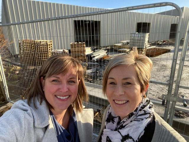 Friends and business partners Donna-Jane Dick and Susan Bell are looking forward to the grand opening of Res(e)t Float Centre