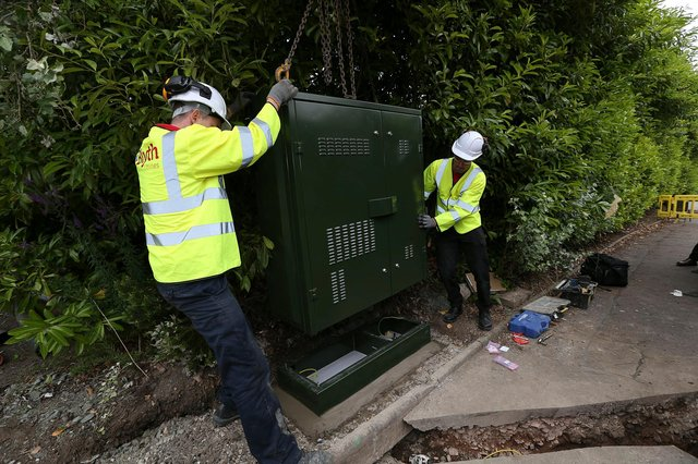 More than 11,600 households and businesses across Falkirk were reached by the £463 million Digital Scotland Superfast Broadband (Pic: Andy Forman)