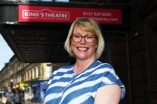 Edinburgh King's Theatre Front of House Manager, Kim McKenna