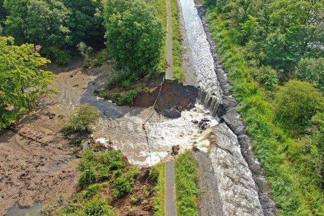 The breach at Muiravonside last August